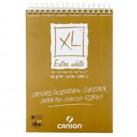 Canson XL Extra White Sketch Pad - A4 - 90gsm - 120 Sheets