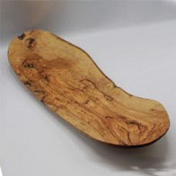 Olive wood tapas serving platter