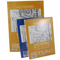 Fabriano Accademia Artist Paperpack in sizes A4 or A3, 120gsm or 200gsm ,100 or 200 Sheets