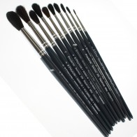 Pro Arte Series 26, Quality Pony Mixture Brushes - Children's Paint Brushes