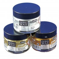 Pebeo Gedeo Gilding Wax, 30ml Jar: Empire, King, Antique, Renaissance Gold or Silver
