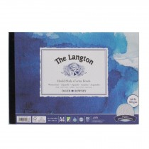 Daler Rowney langton watercolour rough pad a4 300g 12sh