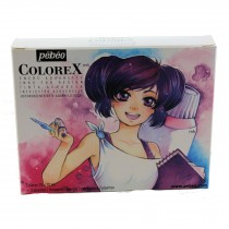 Pebeo Colorex Manga drawing ink set 10 x 20ml