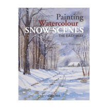 Terry Harrison Painting Watercolour Snow scenes the easy way