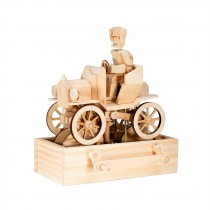 Timberkits Vintage Car wooden model flatpack kit