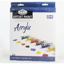 Royal & Langnickel 21ml student acrylic Paint 24 Pc Set