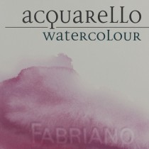 "4 Fabriano Artistico 15""x11"" 300gsm Hot Pressed watercolour paper sheet"