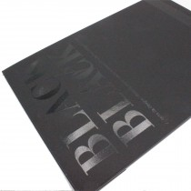 Cover blacl black by fabriano A4 drawing paper pad