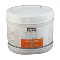 Pebeo Extra Fine Artist Acrylic Light Modeling Paste 500ml