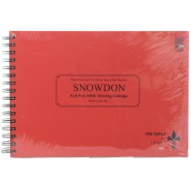 RKB A4 Fat Pad 90 Sheets Snowdon Cartridge 130gsm
