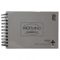 R K Burt watercolour fabriano 5 hot press 300gsm pad