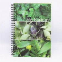 Clairefontaine Herbaium 3D gardening book A4 25 sheets 2 inserts pages