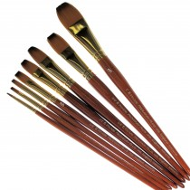 Pro Arte Series 008, Prolene Plus Synthetic One-Stroke Brushes