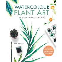 Watercolour Plant Art by Nikki Strange