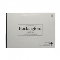 Bockingford watercolour paper pad A3 mixed rough, hot pressed and cold press paper