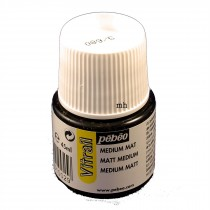 Pebeo Vitrail matt medium 45ml pot