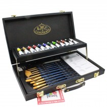 Royal & Langnickel Black Series Acrylic art set 28 pc 2 level