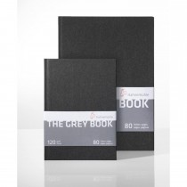 Hahnemuhler The grey book pad A4 40 sheets 120gsm sketchbook
