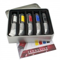 Sennelier artists Acrylique extra fine Acrylic paint Test Pack 21ml tubes