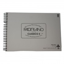 RK Burts fat pad Fabiano Classico 5 hot press watercolour paper pad