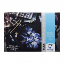 Royal Talens Van Gogh black watercolour paper pad A3 360gsm