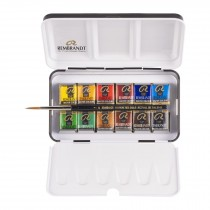 Royal Talens 12 pan Rembrandt water colour paint set