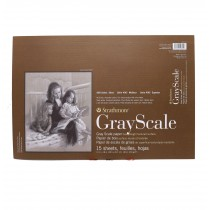 "Strathmore 400 tone GREY scale 12"" x 18"" 80lbs (216gsm )15 sheets"