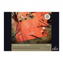 Rembrandt toned Sanguine Red paper pad180gsm 50 sheets A4