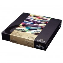 Royal Talens Rembrandt Soft pastels set 60 + 60 half sticks pastels portrait