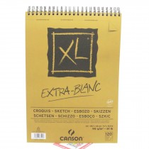 Canson XL Extra White Sketch Pad - A3 - 90gsm - 120 Sheets