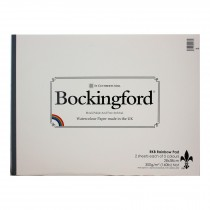 Bockingford Rainbow Pad 10 Sheets 28x38cm 300gsm Not 5 colours