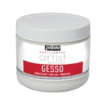 Pebeo clear primer artists white one coat gesso 500ml