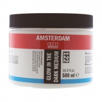 Amsterdam acrylic glow in the dark medium 500ml