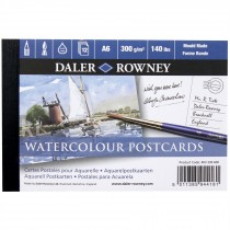 Daler Rowney Langton Postcard A6 watercolour pad Cold Press NOT 300gsm 12 Sheets