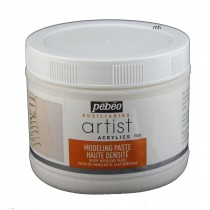 Pebeo Artist Acrylic heavy Modeling Paste 500ml