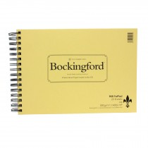 Bockingford watercolour paper Hot pressed Fat Pad 25 Sheets A4 300gsm