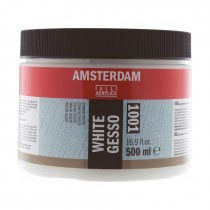 Artists white gesso acrylic primer Amsterdam