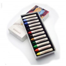 Sennelier artists quality Oil Pastels 12 Assorted Colours