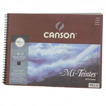 Canson Artists quality pastel paper pad Mi Teintes Black