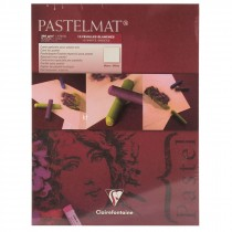 Clairefontaine Pastelmat Pad White pastel artist card 360g 24cmx30cm 12 Sheets 360gsm