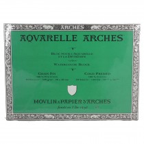 Aquarelle Arches Watercolour Block Cold Pressed
