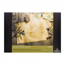 Rembrandt toned desert Brown paper pad 180gsm 50 sheets A4