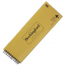 RKB Hot press Fat Pad Bockingford watercolour paper 14.8 x 42cm 300gsm (140lb) landscape