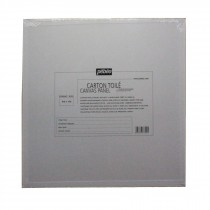 Pebeo white primed Canvas Panel 40cm x 40cm board