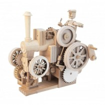Timberkits traction engine wooden machanical