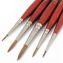 round watercolor brushes round tip sable