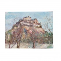 Edinburgh Castle at new years by Mark Hutchby