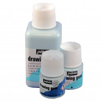 Pebeo Drawing Gum - 45ml or 250ml pots of Synthetic or Natural Latex Masking Fluid