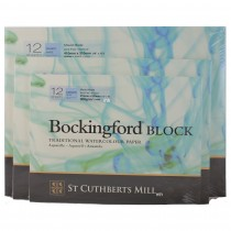 Cold Pressed Bockingford Block watercolour pad