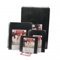 Talens sketch book hard back drawing paper pad 80 sheets 140gsm assorted sizes